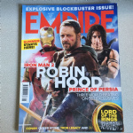Empire Magazine  May 2010 issue 251 Robin  Hood